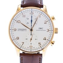 IWC Portuguese Chronograph IW3714-80 2010 pre-owned