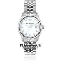 Philip Watch Steel 39mm Quartz R8253597515 new