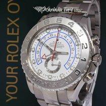 Rolex Yacht-Master II Or blanc 44mm Blanc