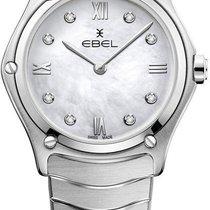 Ebel Sport Çelik 29mm Sedef Romen rakamları