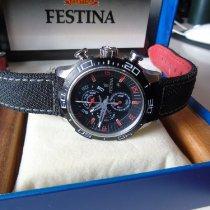 페스티나 스틸 46mm 쿼츠 F16566/6 중고시계