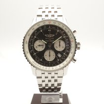 Breitling Navitimer 1 B01 Chronograph 43 pre-owned 43mm Silver Chronograph Date Steel