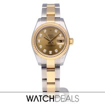 Rolex Lady-Datejust 179173 Very good Gold/Steel 26mm Automatic