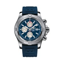 Breitling Super Avenger II Steel 48mm Blue United States of America, Iowa, Des Moines