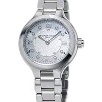 Frederique Constant Horological Smartwatch Acier 34mm Nacre Romains