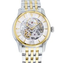 Oris Artelier Skeleton Gold/Steel 40mm Transparent United States of America, Georgia, Atlanta