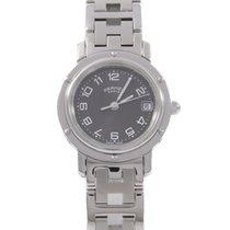 Hermès Clipper 24mm Grau