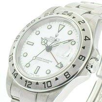 Rolex Explorer II Acciaio 40mm Bianco
