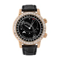Patek Philippe Celestial 6104R-001 Unworn Rose gold 44mm Automatic