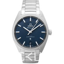 Omega Steel 39mm Automatic 130.30.39.21.03.001 new