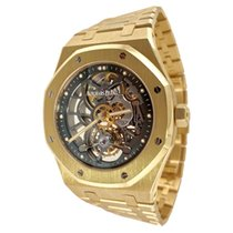 Audemars Piguet Royal Oak Tourbillon Yellow gold 41mm Transparent United States of America, New York, New York