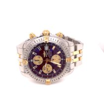 Breitling Chronomat Evolution Gold/Steel 44mm Bordeaux No numerals