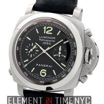 Panerai Luminor Collection 1950 Chronograph Rattrapante Steel...