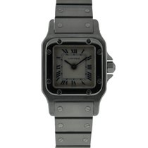 Cartier Santos Galbee Small Size Stainless Steel With Silver...