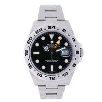 롤렉스 (Rolex) EXPLORER II Stainless Steel Black Dial