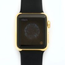 Apple iWatch Solid Yellow Gold Wristwatch