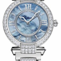 Chopard Imperiale 18K White Gold & Diamonds Ladies Watch
