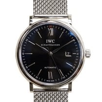 IWC Portofino Stainless Steel Black Automatic IW356506
