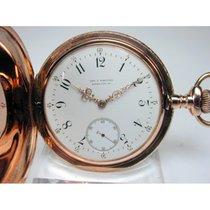Patek Philippe Gold-Savonette Taschenuhr, Rarität von 1889