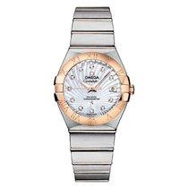 Omega 123.20.27.20.55.001 Constellation Brushed Chronometer in...