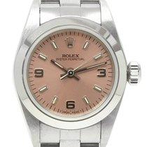 ロレックス (Rolex) オイスターパーペチュアル Oyster Perpetual Lady 67180 Pink Dial