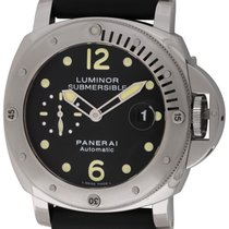 Panerai : Luminor Submersible :  PAM 24 :  Stainless Steel...