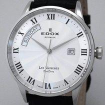 Edox Les Vauberts Day Date Automatic