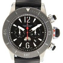 Jaeger-LeCoultre Master Compressor Diving Chronograph GMT Navy SEALs Titan 46mm Schwarz