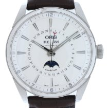 Oris Artix Complication Steel 42mm White