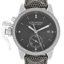 Graham Chronofighter 1695 neu 42mm Stahl