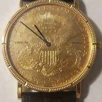 Corum Coin Watch Yellow gold 35mm United States of America, Texas, Dallas