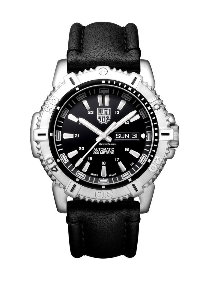Luminox Sea Black Dial Black Strap Men S Watch Xs 6501