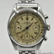 Rolex Chronograph Steel 36mm Silver No numerals United States of America, Texas, Houston