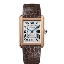 Cartier Tank Solo Yellow gold 31mm Silver
