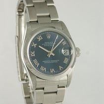 Rolex Lady-Datejust Steel 30mm Blue Roman numerals