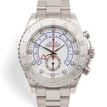 Rolex White gold Automatic 44mm pre-owned Yacht-Master II