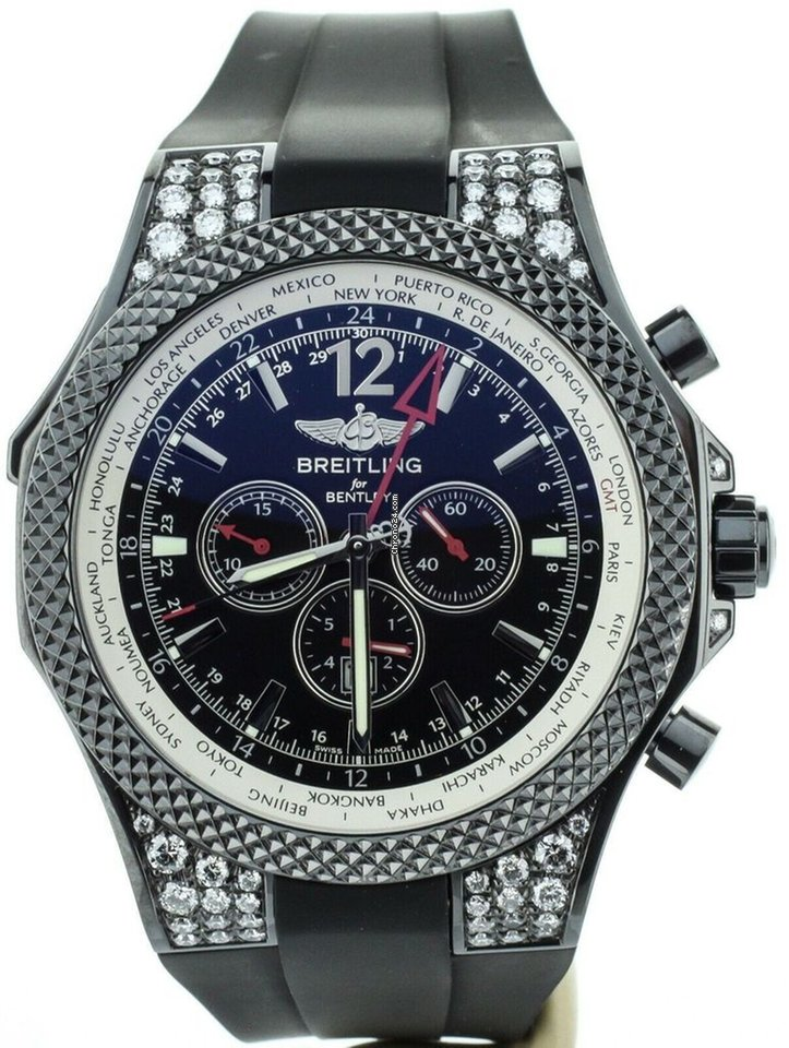 Breitling Bentley GMT M47362 pre-owned