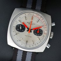 Breitling Top Time Steel 38mm Silver No numerals