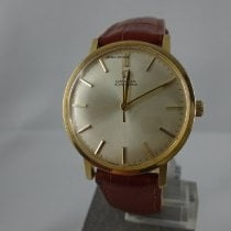Omega Genève Gold/Steel 33mm Silver No numerals