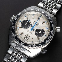 Heuer 1163T Flat V & Ridged Marker Dial Vintage 1970 pre-owned
