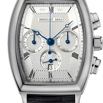 Breguet White gold 32.8mm Automatic 5460bb pre-owned