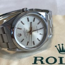 Rolex Air King Precision Steel 34mm Champagne No numerals Singapore, Singapore
