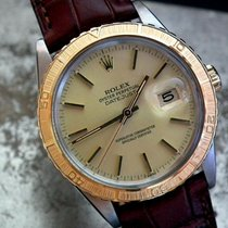 Rolex Datejust Turn-O-Graph Gold/Stahl 36mm Champagnerfarben