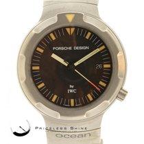 IWC Porsche Design Ocean 2000 Automatic Titanium Black Dial...