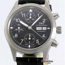 萬國 (IWC) Flieger Chronograph 3706 Box Papers Serviced