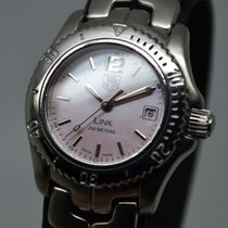 TAG Heuer Link Lady 26mm Pink Mother Of Pearl MOP EU Full Set