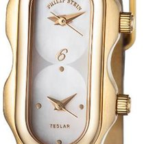 Philip Stein 18KT SOLID GOLD MOP Dial MINI Dual Time watch