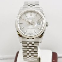 Rolex Datejust 116234 36mm Silver Face Box & Booklets 2005...