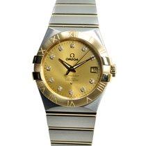 欧米茄  (Omega) Constellation 18k Gold Steel Gold Automatic...
