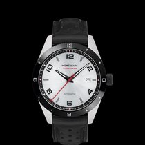 Montblanc Steel 41mm Automatic 116058 new
